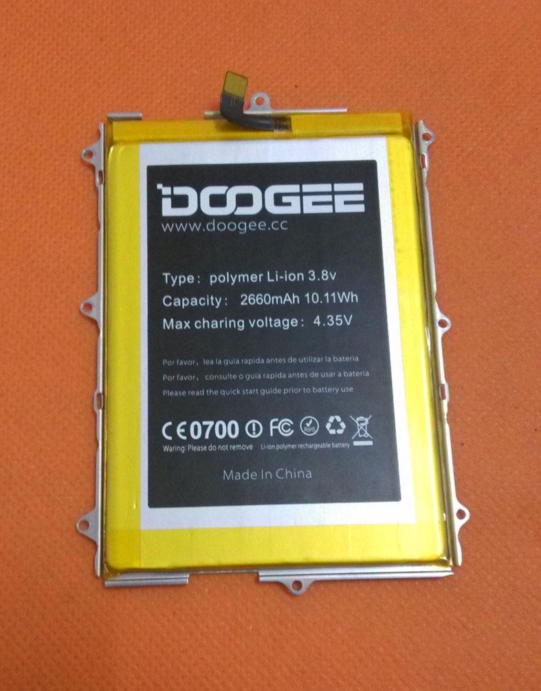 D'origine 2660 mAh Batterie Batterie Batterij Bateria Pour Doogee F5 4G LTE 5.5 pouces MTK6753 Octa Core FHD 1920x1080