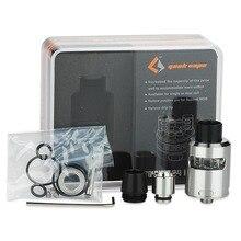 100% Original GeekVape Tsunami 24 Plus Hollow Pin Positivo E-cigarrillo Atomizador RDA RDA Atomizador 24 Versión apta para Squonk MODs
