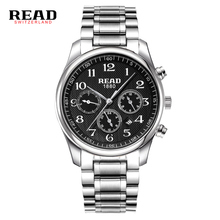READ watch Multi-functional sports men's watch fashion belt quartz Watches Men Luxury Brand R6082