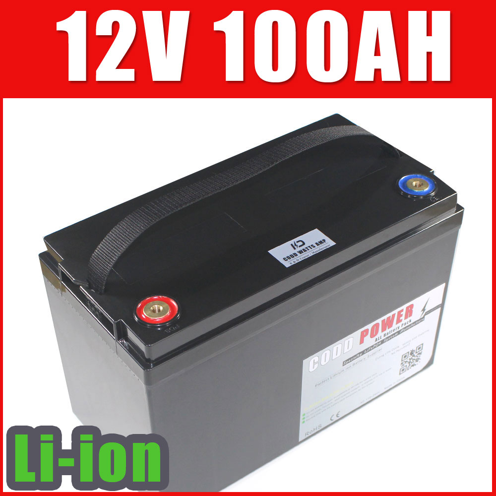 LiFePO4 Battery 12V 100AH Golf Car Battery-in Electric