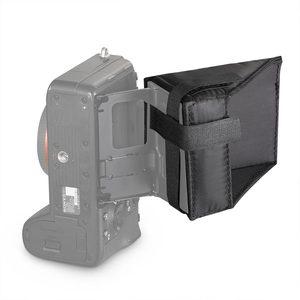 Image 5 - SmallRig Camera Screen Sun Shield Hood for Sony A7 A7II A7III A9 Series DSLR Camera/Camcorders Viewfinder Sunshade Hood 2215