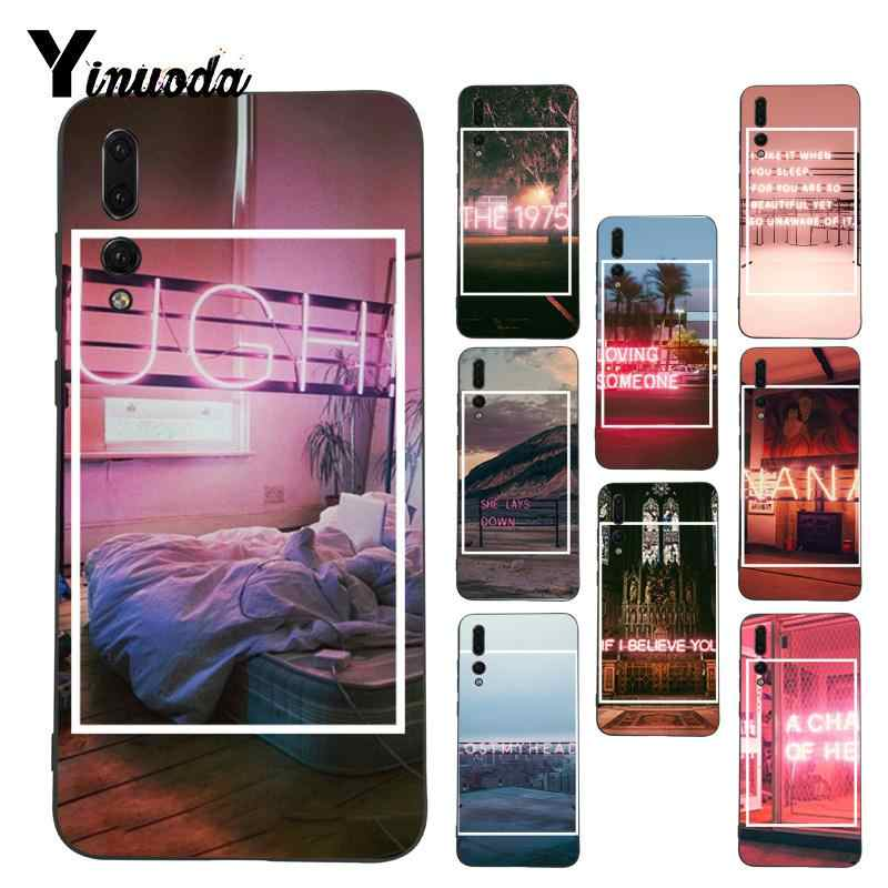 Yinuoda The 1975 Songs Diy Printing  Phone Case for Huawei P9 P10 Plus Mate9 10 Mate10 Lite P20 Pro Honor10 View10
