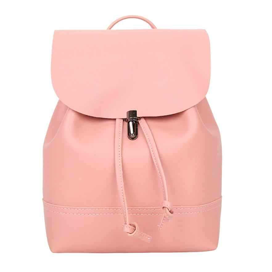 Detail Feedback Questions about Student Shoulder School Classic Backpack  Women Travel Mini Small Backpack Leather Backpacks Waterproof Bag Backpacks  7.5 30 ... 8db806a7b0474