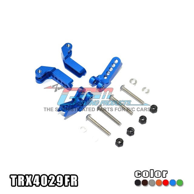 TRAXXAS TRX-4 TRX4 82056-4 Damper mount front/rear adjustable aluminium alloy - set TRX4029FR free shipping