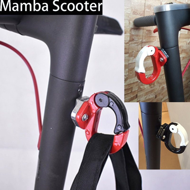 Xiaomi Mijia M365 Electric Scooter Front Hook Hanger Helmet Bags Claw DIY Gadget Skateboard Tools Bottle Luggage Cargo Carrier spirit beast motorcycle hook mineral water stent multi functional bracket electric helmet hook general beverage bottle rack