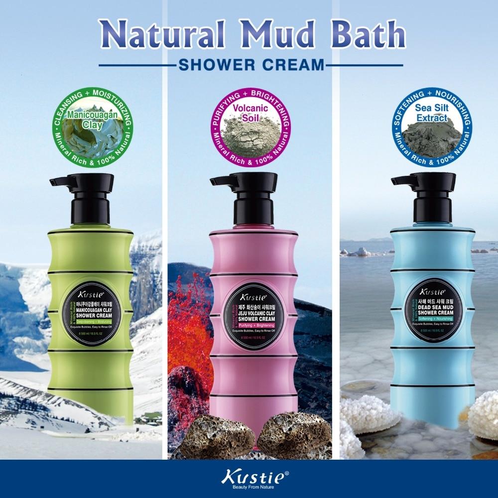 New Arrival Kustie Natural Mud Bath Shower Cream Gift Set Up to 20% OFF 500ml 3 PCS dji phantom 3 sta shell for phantom3 standard original accessories