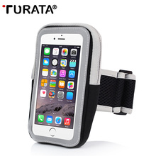 Sports Arm Band Case for iPhone 7 / 6, TURATA Universal Portable Outdoor Exercise Night Running Phone Pouch for iPhone 7 6S Plus