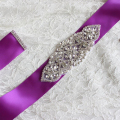 ZXW49 Crystals Bridal Wedding Belts Sash Rhinestone Wedding Accessories Wholesale High Quality Dress Sashes