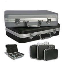 Алюминиевый сплав ящик для инструментов Часы камера противоударный водонепроницаемый чемодан для хранения автомобиля ремонтные коробки портативное оборудование контейнер