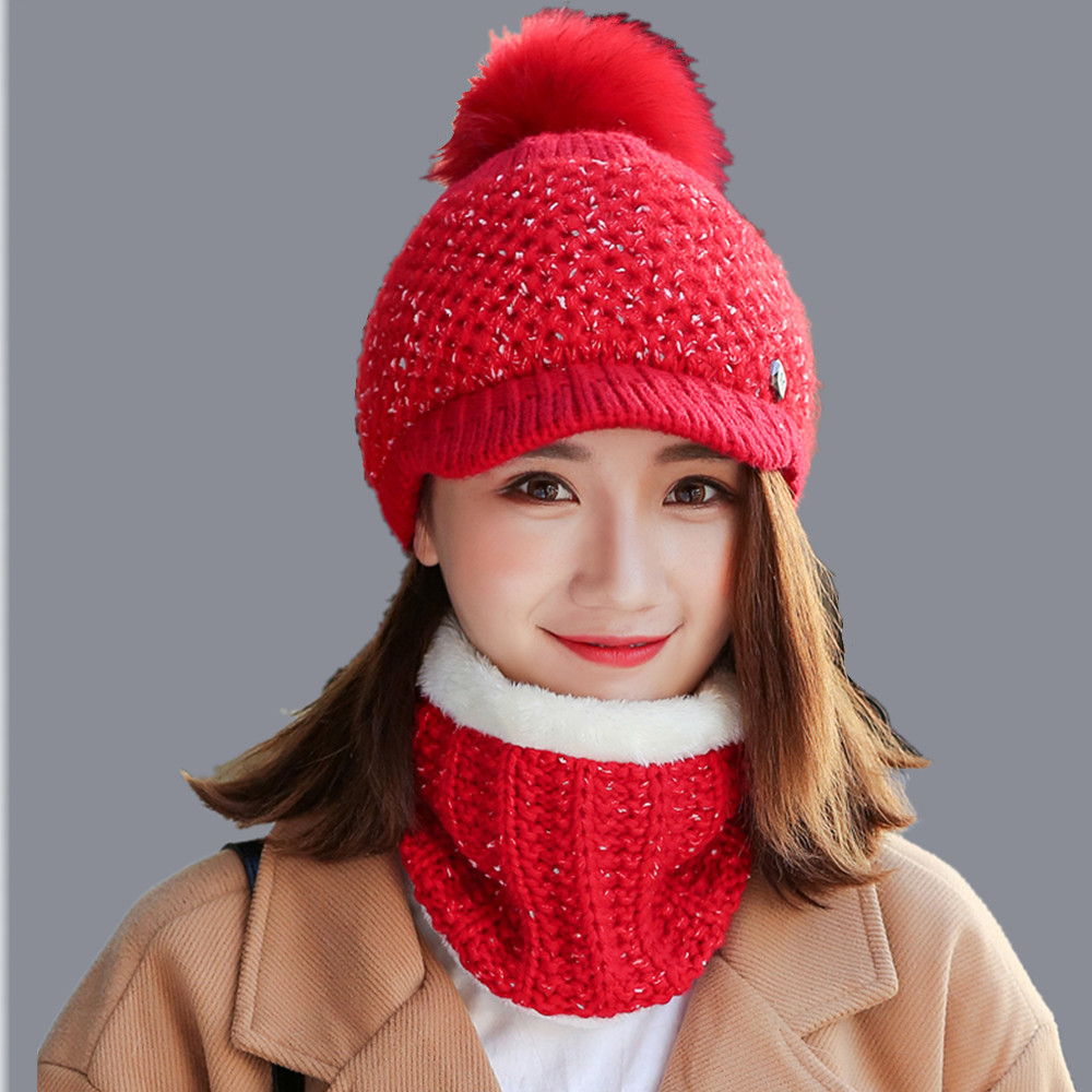 Brand Winter Hats Skullies Beanies Hat Winter Beanies For Men Women Wool Scarf Caps Balaclava Mask Gorras Bonnet Knitted Hat skullies
