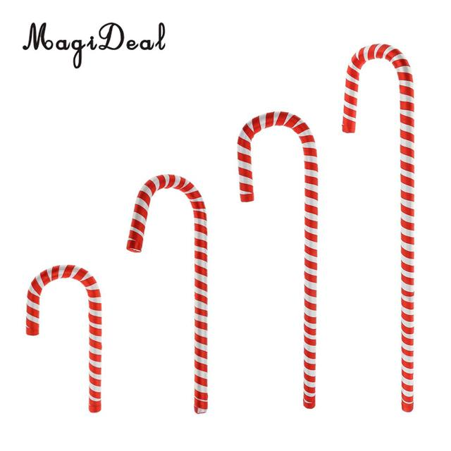Plastic Candy Cane Christmas Tree Hanging Decoration Red White Impressive Plastic Candy Cane Decorations