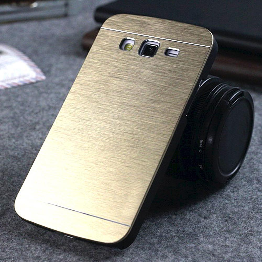 Luxury Brush Aluminum Metal Back Cover For Samsung Galaxy Grand Duos GT I9082 i9080 & NEO i9060 i9062 Plus i9060i Cases Shell