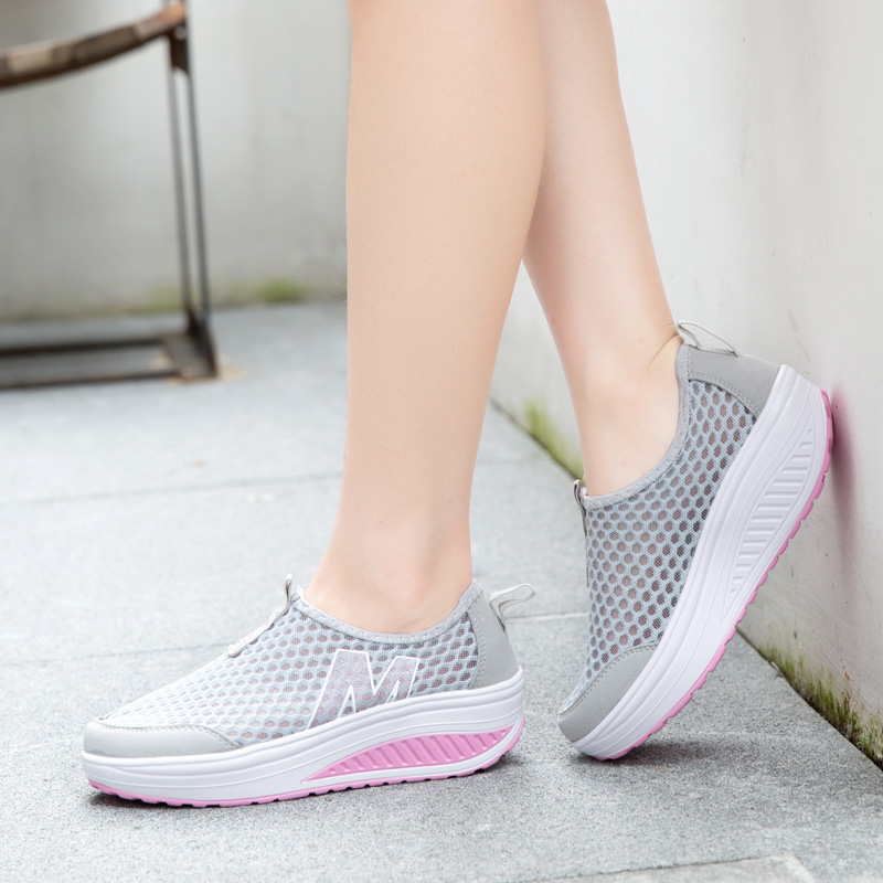 Height Last Loafers Mesh 39