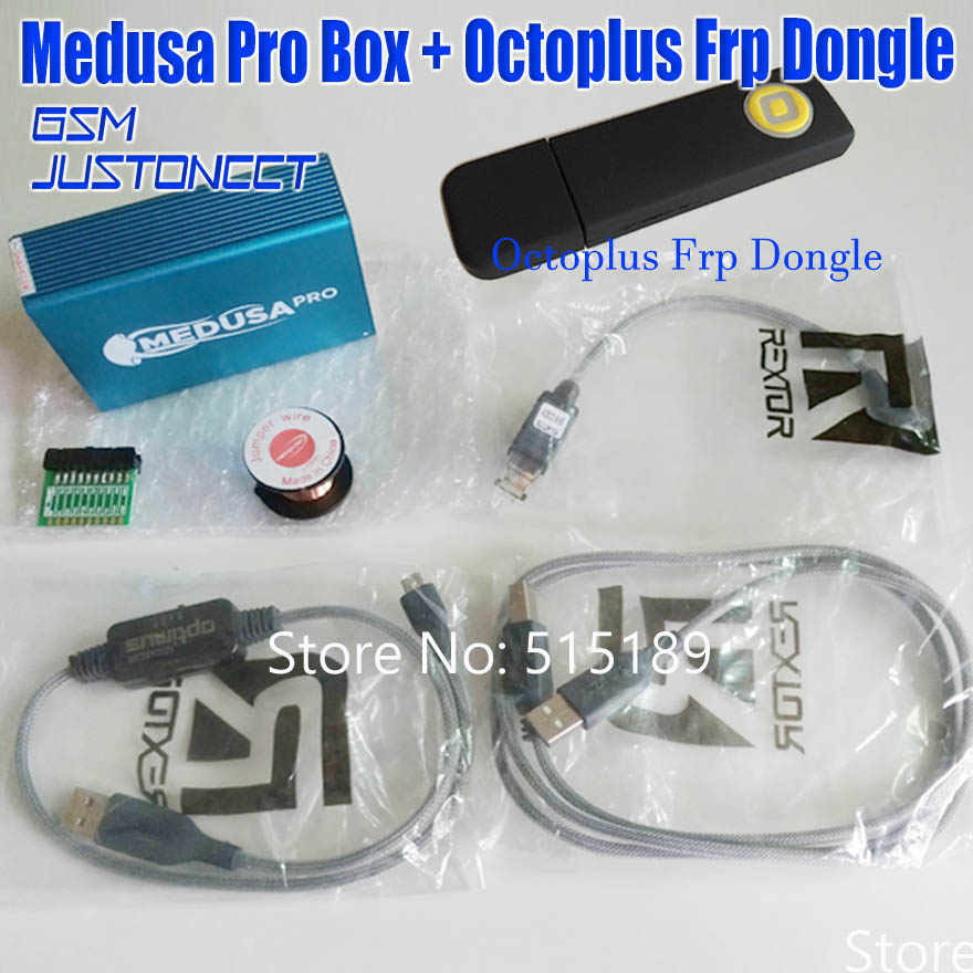 Dongle Caja Octoplus Optimus Mmc Para Lg Clip Huawei Cable Nueva Original Frp Samsung Con Medusa Pro Jtag De