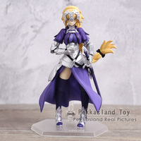 Anime Fate Grand Order Jeanne d'Arc Ruler Figma 366 PVC Action Figure Collection Model Kids Toys Doll 14cm