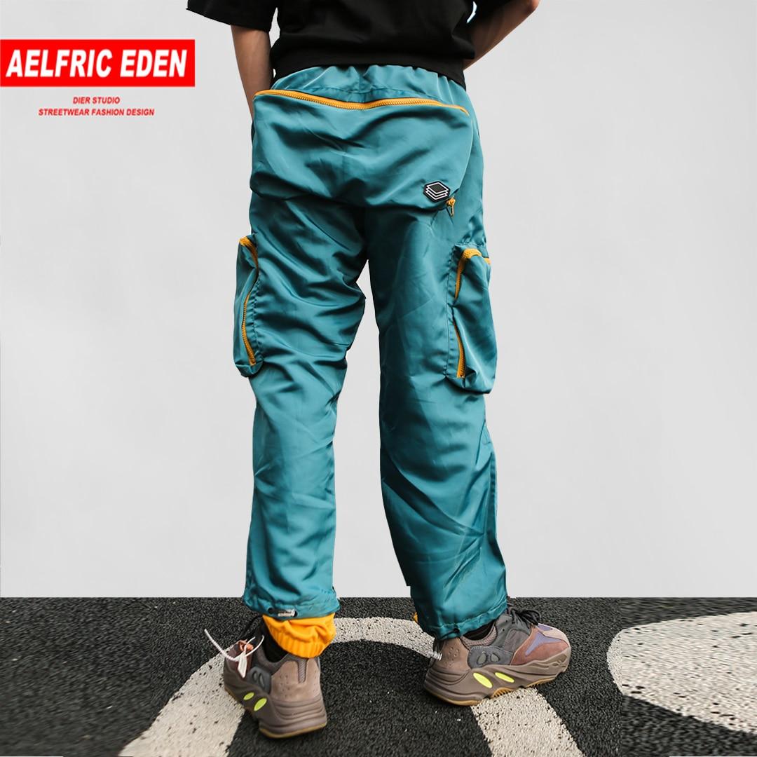 Aelfric Eden Kleur Blok Harembroek Mens 2019 Zomer Mode Streetwear Creative Borduren Skateboard Joggers Track Broek-in Harem-broek van Mannenkleding op AliExpress - 11.11_Dubbel 11Vrijgezellendag 1