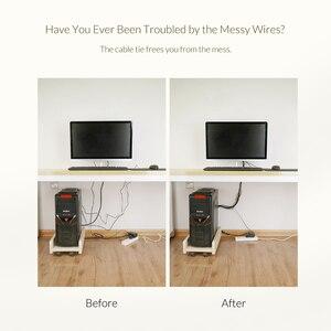 Image 2 - Cáp Nhà Tổ Chức Cáp USB Cuốn Gọn Chuột Dây Điện Dây AUX Dây HDMI Giá Rẻ Kẹp Quản Lý Điện Thoại Quanh Co Nhung Cáp