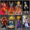 Dragon Ball Z Figura de Ação Gotenks Goku Gohan Vegeta Yamcha PVC Brinquedo Esferas de Dragon Ball Modelo Juguetes Del Dragão DBZ Figuras