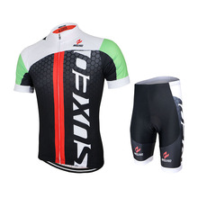 2017 ARSUXEO Men Cycling Jersey Bike Bicycle Short Sleeves Jersey