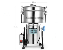High-speed Electric Grains Spices grinder 4500g ,Chinese medicine Cereals Coffee Dry Food powder crusher  Mill Grinding Machine