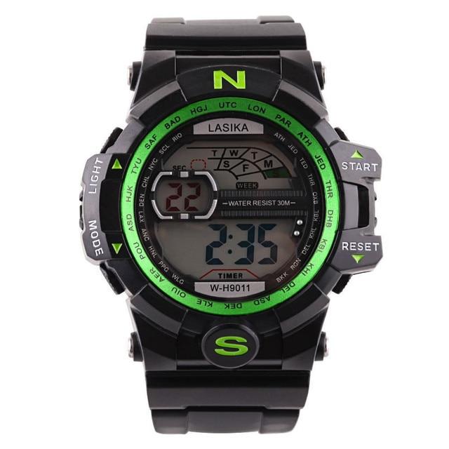 Fashion Luxury Men Quartz Digital Sports Watches Military Silicone Band Mens Cas