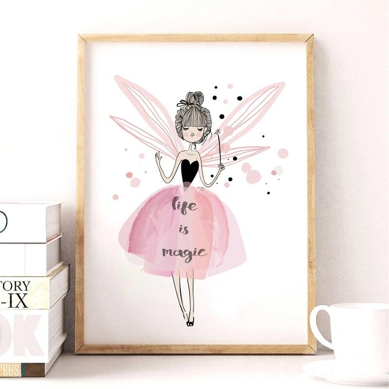 Акварель дівчата полотно мистецтва - Домашній декор - фото 5