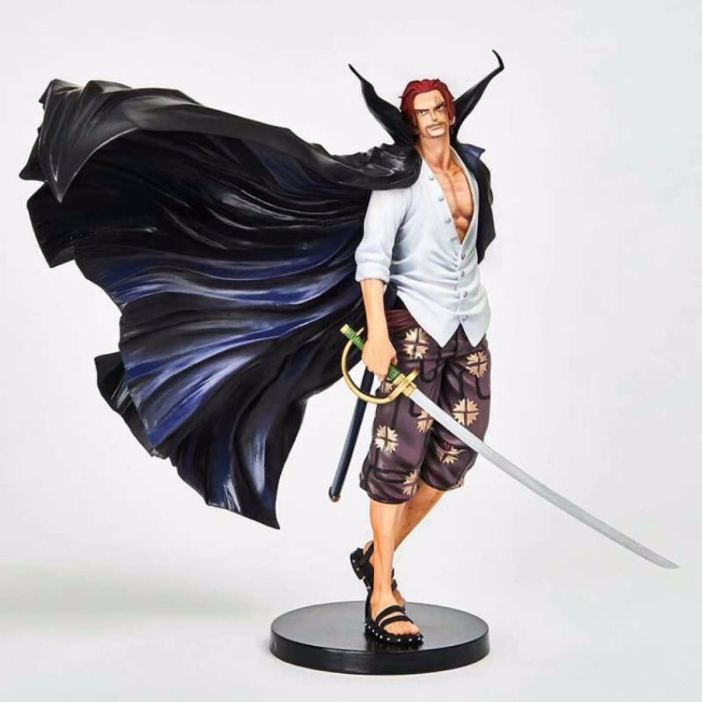 NEW hot 18cm One Piece Shanks Stylist action figure toys collection doll Christmas gift with box new hot 26cm one piece big dracule mihawk action figure toys doll collection christmas toy no box