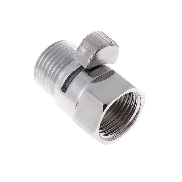 """フル真鍮 G1/2 """"クイック制御遮断弁シャワーヘッドハンド水セーバー Dls HOmeful"""
