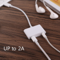 2in1 8pin to 3.5mm Audio Jack Headphone Earphone & Charge Charger Cable Splitter Converter Adapter for iPhone 7 7 Plus 6 6S Plus
