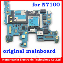 DHL/EMS free shipping Europea version original unlocked mainboard for Samsung note 2 n7100 Motherboard circuit system board