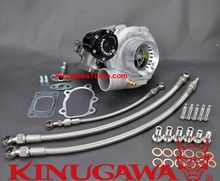 Kinugawa Ball Bearing Turbocharger 3 GT3071R GT2835 AR.64 T25 5 Botl for Nissan SR20DET