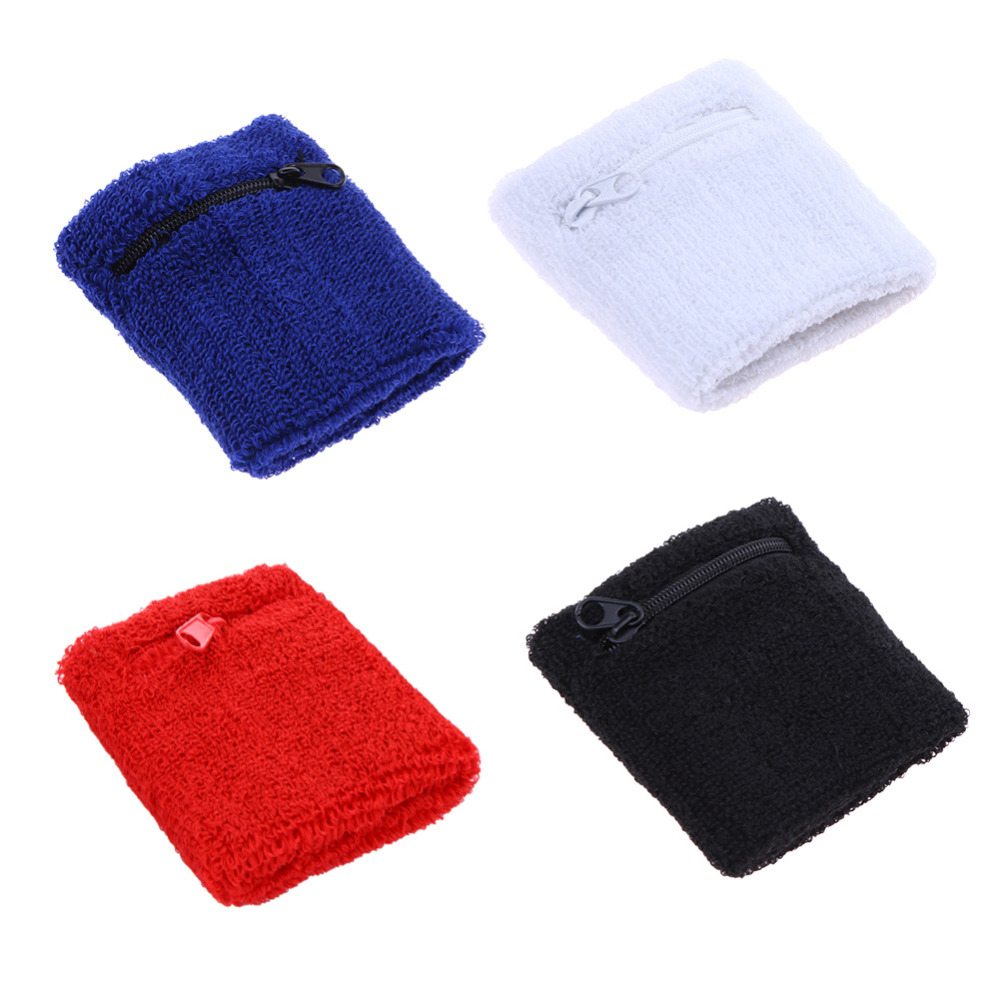 Towel To Wipe Sweat: Zipper Pocket Towel Movement Wipe Sweat Warm Wrist