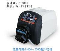BT601L YT25 Plastic Intelligent peristaltic pump Adjustable High Big Flow Control Lab Liquid Pump 0.17 2900ml/min