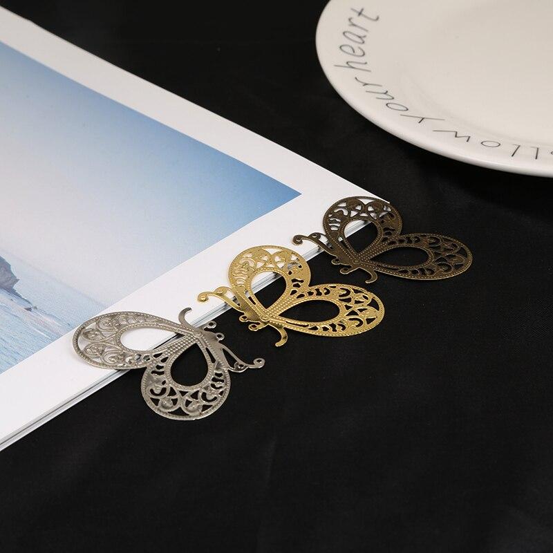 10 Stücke 34x45mm Gold/bronze/rhodium Schmetterling Filigrane Blume Wraps Anschlüsse Charms Für Schmuck Machen Diy Zubehör Taille Und Sehnen StäRken