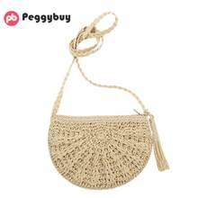 ba440c61a0e6 Ленточки ретро сумки на плечо для Для женщин тканые пляж Курьерские сумки  для девочек бахромой крючком · Доступно цветов: 2