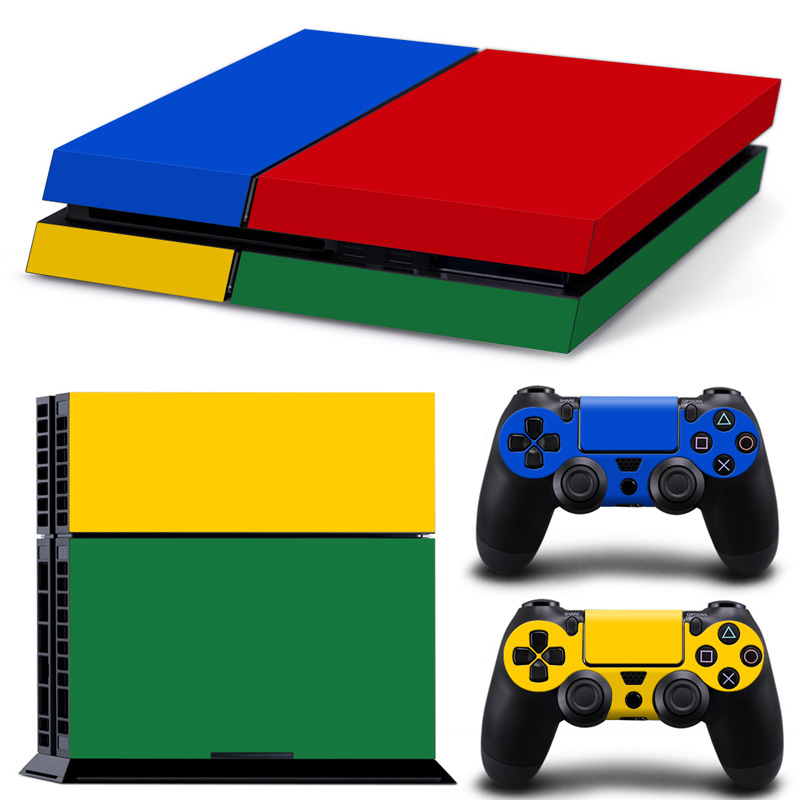 Newest PS 4 Game Sticker For Playstation 4 PS4 Console Controllers Protector Cover Skin Stickers