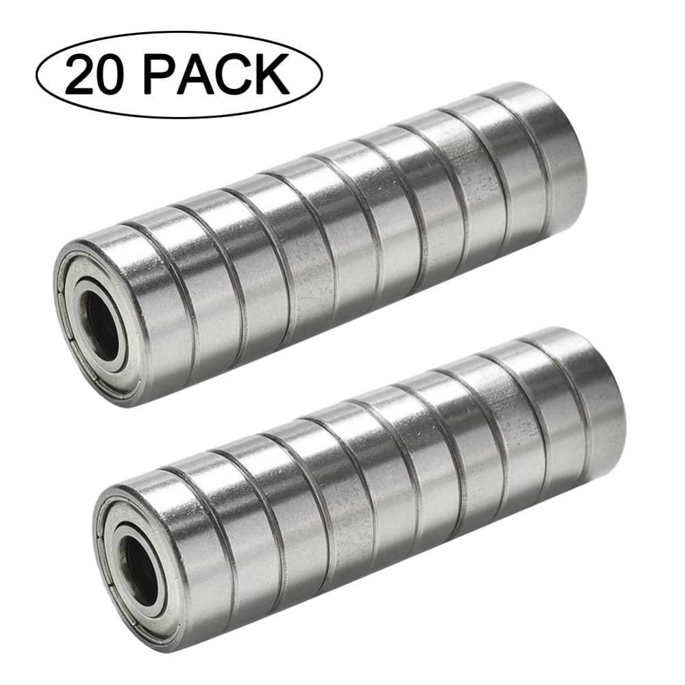 608ZZ Bearing 8x22x7 mm ( 10 PCS ) ABEC-5 Skate Stroller Miniature 608 ZZ Ball Bearings 608Z 608 2Z