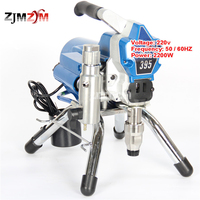 New Professional Electric High Pressure Airless Paint Sprayer Painting Machine 395 With 2200W Motor 220v 50