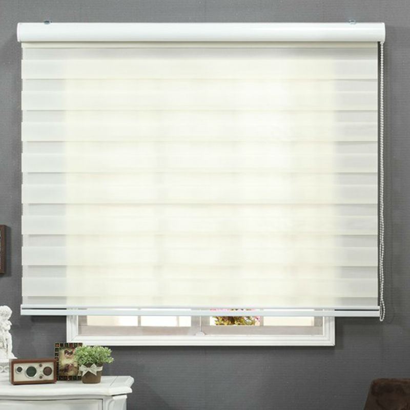 2017 New Style Soft Quality Good Design Zebra Blinds Solid