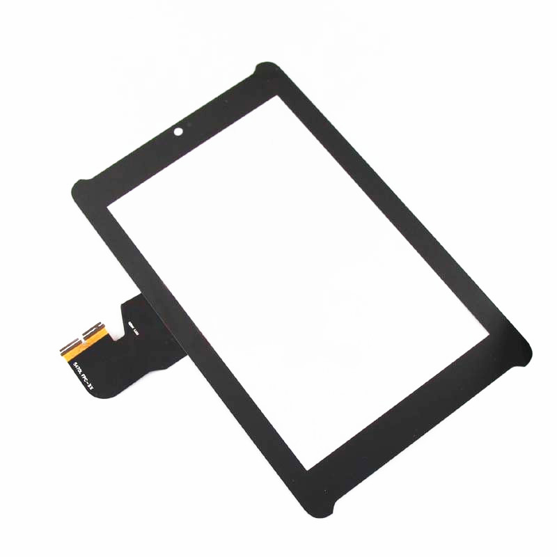 Original For <font><b>ASUS</b></font> Fonepad 7 ME372CG ME372 <font><b>K00E</b></font> Touch Screen With Digitizer Panel Front Glass Lens Black Color Free Shipping image