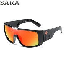 SARA Dragão Óculos De Sol Óculos Goggle Óculos de Sol Dos Homens Do Esporte  Novo 2018 Da Marca Dos Homens óculos de sol do vinta. 95cdae669d