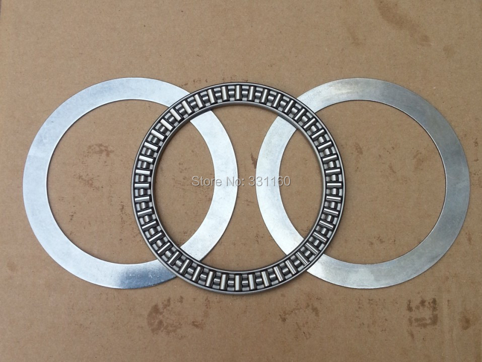 2PCS 889117,85*110*4 /6mm AXK85110+2AS Thrust Needle Roller Bearing With Two Washers Each