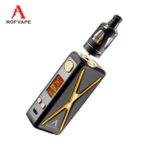Rofvape XER 90w vape kit Vaporizer 2ml Tank TFT Color Screen electronic cigarette kit vapor Hookah 510 Thread VS Invader 3 III