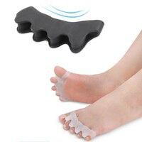 10 пар корректор для пальцев ног силиконовый гель разделители для пальцев ноги ортопедические носилки выровнять правильный перекрытия вкла...