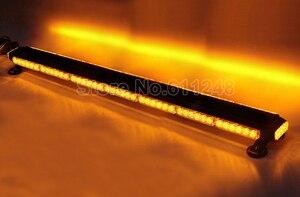 """Image 5 - 44 """"Bốn Mặt 90LED 12V An Ninh Khẩn Cấp Cảnh Báo Đèn Flash Ánh Sáng Nhấp Nháy Lính Cứu Hỏa Máy Kéo Nông Nghiệp AVT Offroad Đèn LED thanh"""