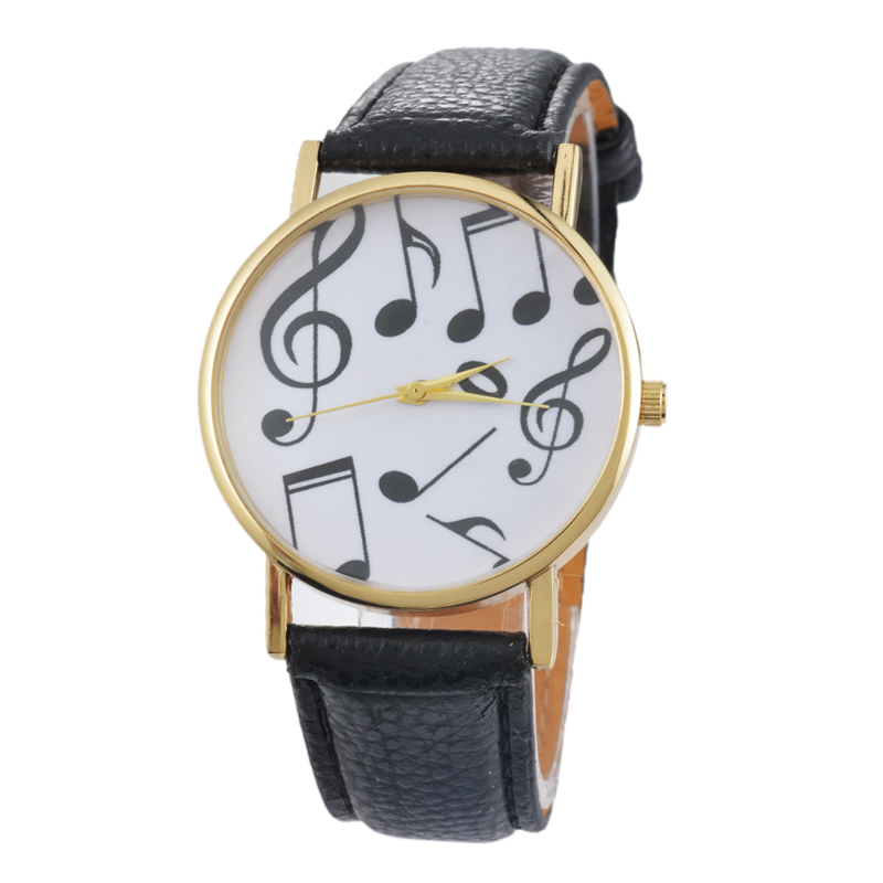 Musical Piano Note Watch