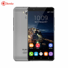 OUKITEL U16 Max 6.0 inch 4G Smartphone Android 7.0 MTK6753 Octa Core 1280*720 3GB+32GB 13MP 4000mAh Fingerprint ID Mobile Phone