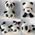 Nuevo Estilo Precioso 20 cm Rubor Panda de Peluche de Juguete de Peluche Lindo Estupendo Presentes Muñeca de Juguete Animal Suave Felpa de la Panda para Los Niños Regalo 1 unids
