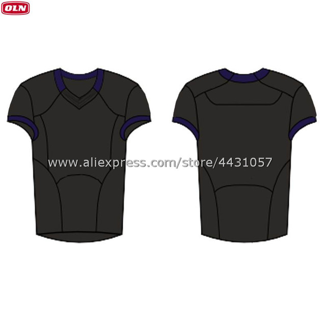 d976adb4b (OLN) MEN S 2018-19 FOOTBALL JERSEY BLACK CUSTOM JERSEY ANY NAME ANY NUMBER  AUTHENTIC EMBROIDERY JERSEYS BR5JF