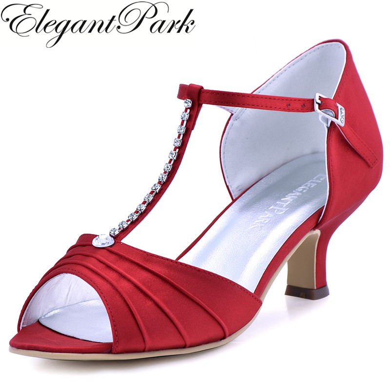 Online Get Cheap Red Low Heel Bridal Shoes -Aliexpress.com ...